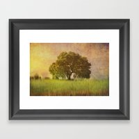 Lonely Tree.II Framed Art Print