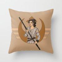 I Can Handle Myself Throw Pillow