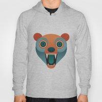 Geometric Bear Hoody