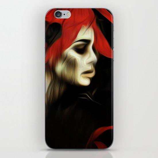 portrait of sadness iPhone & iPod Skin