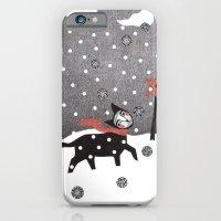 Snow Cat iPhone 6 Slim Case