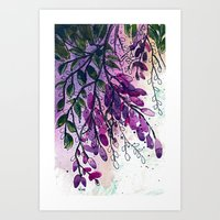 Wisteria-ish Art Print