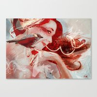 Songbird- Version2 Canvas Print
