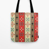 Modern Native American Pattern 2 Tote Bag