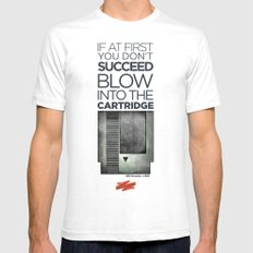 Life Tip #101 White SMALL Mens Fitted Tee