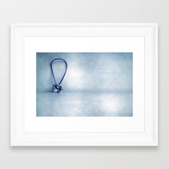Miss garlic Framed Art Print