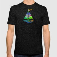 Ocean-Race  no11 Mens Fitted Tee Tri-Black SMALL