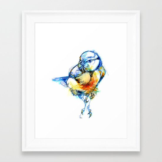 Little Claws Framed Art Print