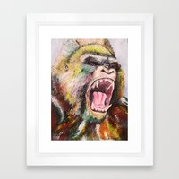 Unleashed  Framed Art Print