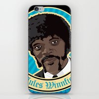 Jules Winnfield Portrait iPhone & iPod Skin