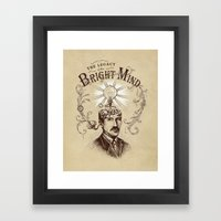 The Legacy of the Bright Mind Framed Art Print