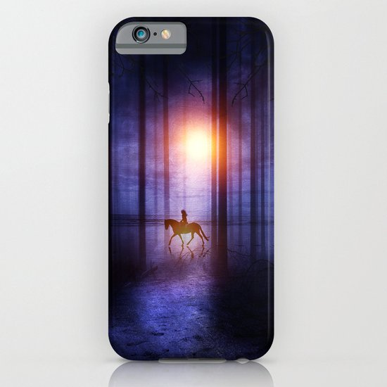 Rider on the sun iPhone & iPod Case