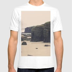 Las Catedrales Mens Fitted Tee White SMALL