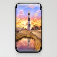 Lighthouse Landscape Sky iPhone & iPod Skin