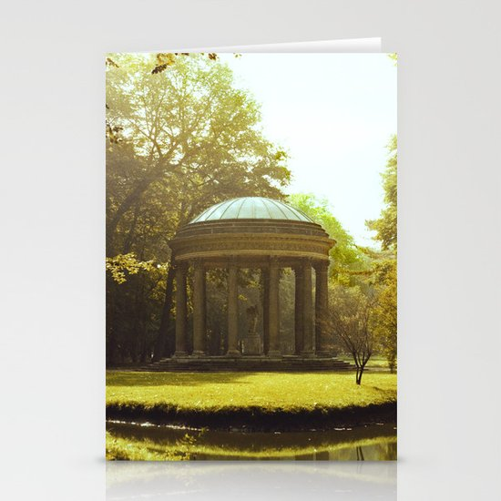 Temple of Love Stationery Card