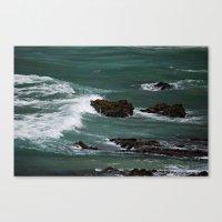 Praia do Castelejo, Portugal Canvas Print