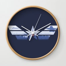 The Captain (Stars and Stripes) Wall Clock
