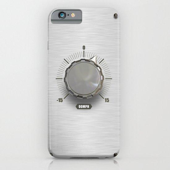 basiQ Knob with Brushed Metal Background iPhone & iPod Case