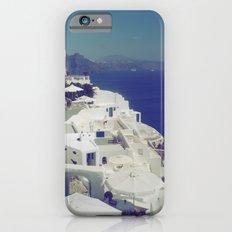 Santorini White & Blue Slim Case iPhone 6s