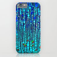 iPhone & iPod Case featuring :: Blue Martini Celebration :: by :: GaleStorm Artworks ::