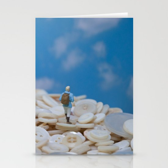 The Great Button Hike Stationery Card