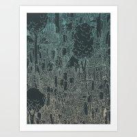 enviro-mental Art Print