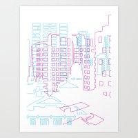 Interurban Art Print