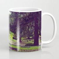 Cemetery landscape Mug