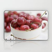 Cherries In A Teacup Laptop & iPad Skin