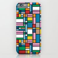 Map Outline iPhone 6 Slim Case