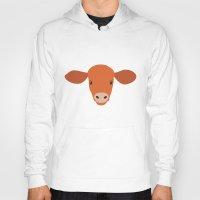 Cow-mor orange Hoody