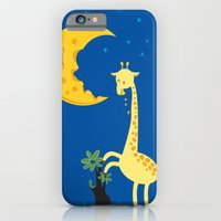 iPhone & iPod Case featuring The Delicious Moon Cheese by W.H.Tham