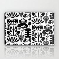 MCM Scandi Flowers Black Laptop & iPad Skin
