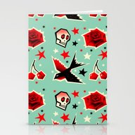 Swallow The Cherry Stationery Cards