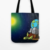 My World Is Their World. Tote Bag