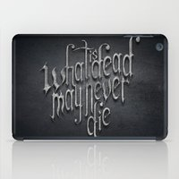 What Is Dead iPad Case