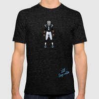 Keep Pounding - Cam Newton Mens Fitted Tee Tri-Black SMALL