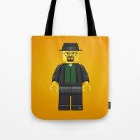Lego Walter White - Vector Tote Bag