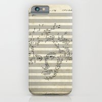 iPhone & iPod Case featuring Beethoven by bananabread