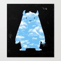 Mr. Sky Canvas Print