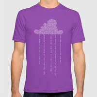 Cloud In Blue Mens Fitted Tee Ultraviolet SMALL