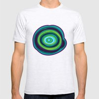 Malachite Mens Fitted Tee Ash Grey SMALL