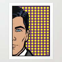 Sterling Archer Of ISIS.… Art Print