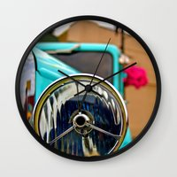 Headlight Americana Wall Clock