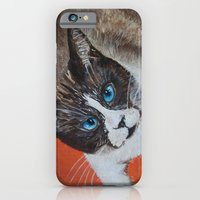 Rastus The Snowshoe Cat iPhone 6 Slim Case
