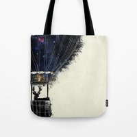 Journey To The Woodlands Tote Bag