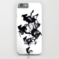 Black horses iPhone & iPod Case