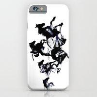 Black Horses iPhone 6 Slim Case