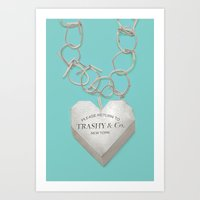 Trashy & Co. Art Print