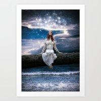 Wishing For Neverland Art Print